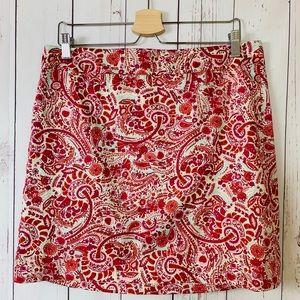 AnnTaylor LOFT Pencil Short Skirt Cotton Size 10